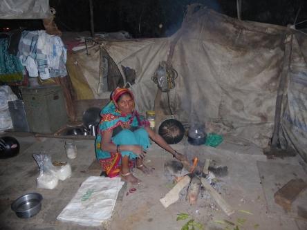 Ahmedabad camp cok fire