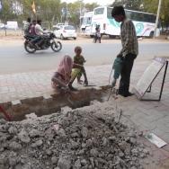 roadside trench ahmedabad